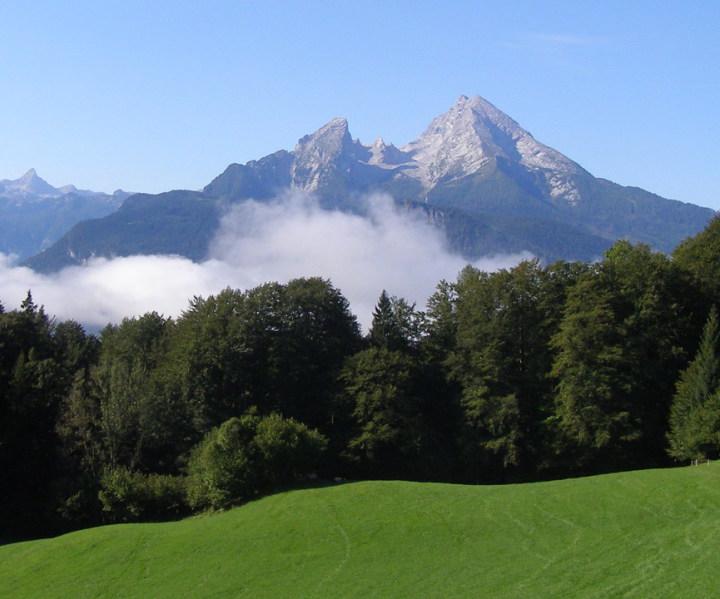 Ferienwohnung Bergblick Logenplatz im Grünen